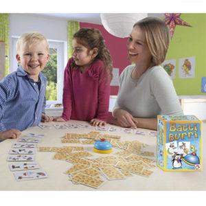 Tarde de juegos de mesa en familia