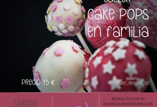 Taller cake pops en familia