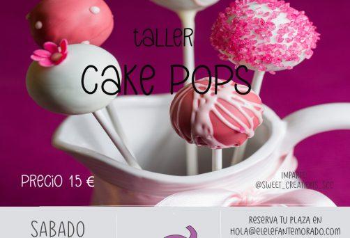 Taller de cake pops